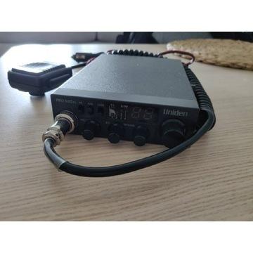 CBradio Uniden pro 520 XL antena President Florida