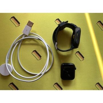 Apple Watch SE GPS 40mm czarny-sport + Spigen