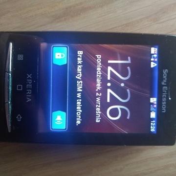 Sony Ericsson Xperia X10 Mini czarny