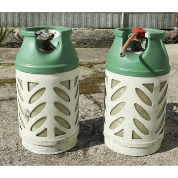 Lekkie butle gazowe z reduktorewm 11 kg