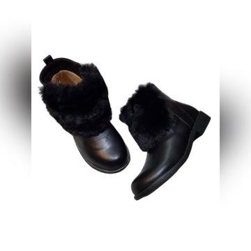 Buty zimowe ocieplne