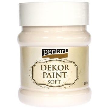 Farba kredowa Pentart biały krem 230 ml