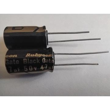 kondensator Black Gate STD 47uf 50V 1szt