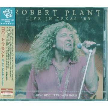 2CD ROBERT PLANT JAPAN