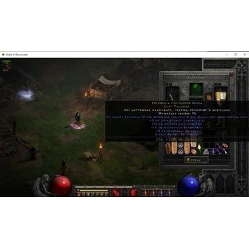 Diablo 2 Resurrected Non Ladder Torch Czarodziejka