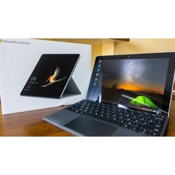 Surface Go 4/64gb, zestaw tablet + klawiatura