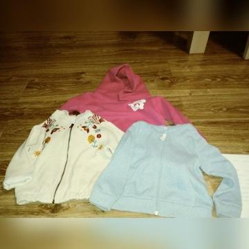 Bluzy dla dziewczynki 98-104