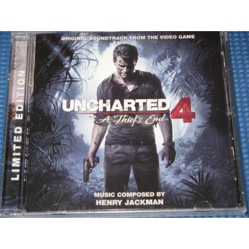 HENRY JACKMAN UNCHARTED 4  Limited Edition