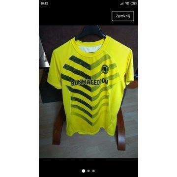 Runmageddon t-shirt koszulka techniczna sportowa