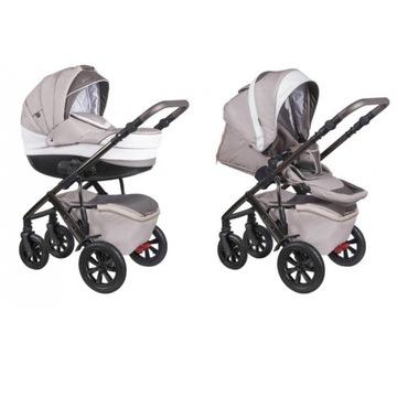 Wózek niemowlęcy COLETTO VERONA beżowy 4w1