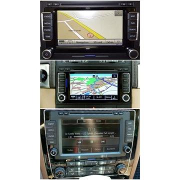 VW Mapa nawigacji Volkswagen RNS 510 NOWOŚĆ 2020