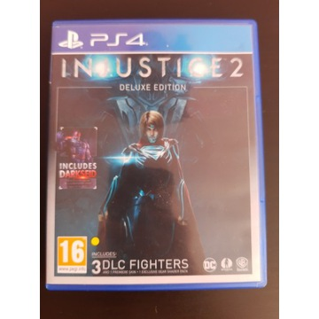 Gra PS4 Injustice 2 Deluxe Edition