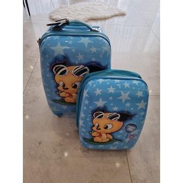 Zestaw walizka + plecak
