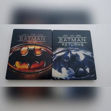 BATMAN+POWRÓT BATMANA /STEELBOOK/ LEKTOR NAPISY PL