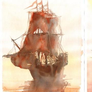 fregata statek  C / D