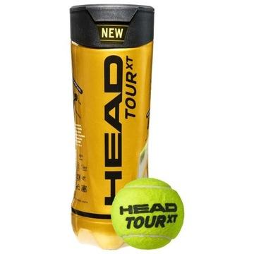 Piłka tenisowa HEAD tour xt 4 szt.