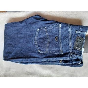 Armani Giorgio Aj jeansy spodnie 32 piękne 100%Ory