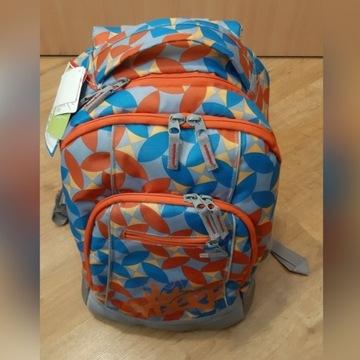 Plecak szkolny Syderf - usztywniany, nowy.