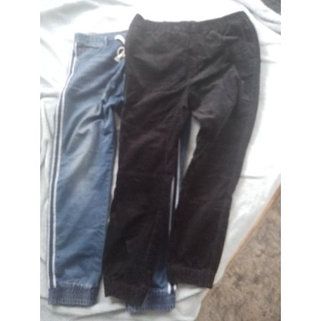 Spodnie sztruksowe i dżinsy DIVERSE H&M XL/XXL