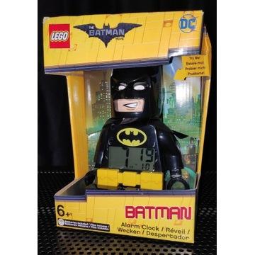 LEGO ZEGAR BUDZIK BATMAN FIGURKA ŚWIATŁO DŹWIĘK