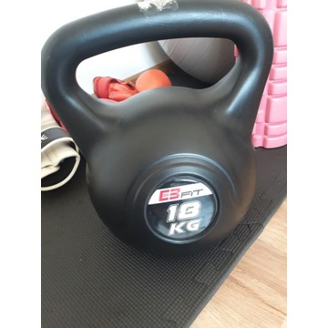 Kettlebell bitumiczny 18 kg