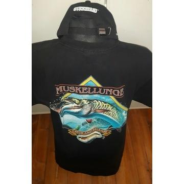 Koszulka M szczupak muske usa catch and release
