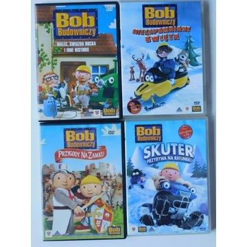 Bob budowniczy zestaw 4 płyt