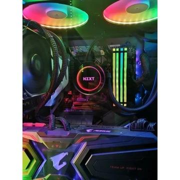 Intel i7 8086k (lepszy 8700k) + Asus prime z370-a