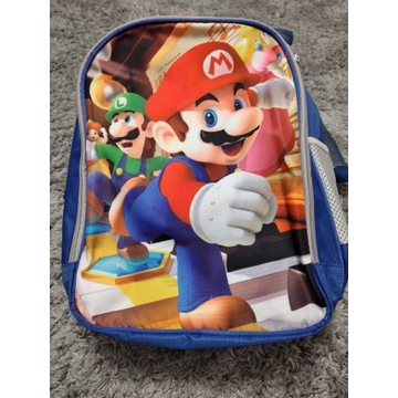 NOWY Super Mario plecak 3D
