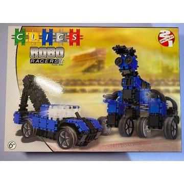 Clics Robo Racers 2 in 1 niebieski