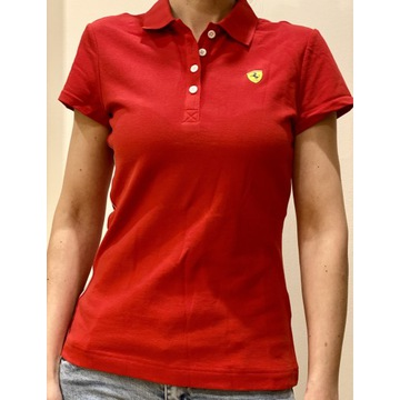 Koszulka Polo t-shirt Ferrari Nowa