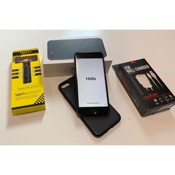 IPHONE 7 128GB BLACK stan db+, zestaw bluetooth