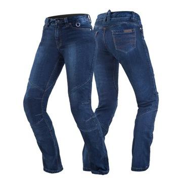 Spodnie motocyklowe jeansy SHIMA SANSA BLUE - 32