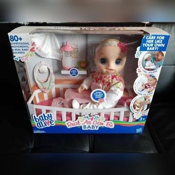 Lalka interaktywna Baby Alive Hasbro jak Dziecko