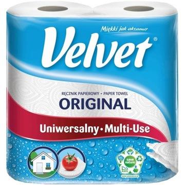 Velvet Original ręcznik papierowy wytrzymały 2rolk