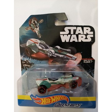 SLAVE I  autko Hot Wheels Star Wars Carships