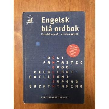 Engelsk bla ordbok