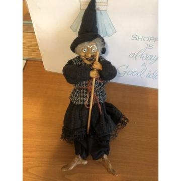 Czarownica na miotle, Halloween, Dekoracja