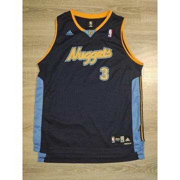 Koszulka NBA Iverson #3  Denver Nuggets Adidas XL