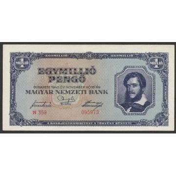 Węgry 1000000 pengo 1945 - N 359 - stan 1/2