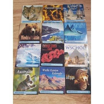 Zestaw filmów dokumentalnych i przyrodniczych
