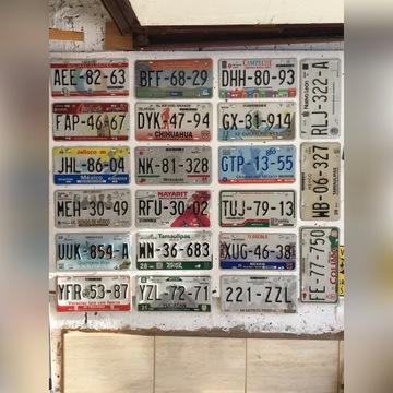 Tablice rejestracyjne Mexico