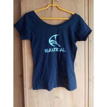 T-shirt z nadrukiem IN EXTENSO rozm. S