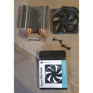 Chłodzenie CPU Silentium PC Fortis HE 1225 intel