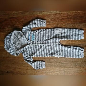 Rampers, piżama z kapturem CoolClub 86/12-18 m-cy