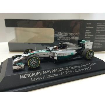 Mercedes W05 Hamilton MŚ ! Minichamps 1/43