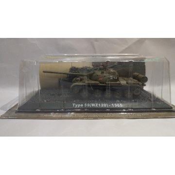 MODEL KOLEKCJONERSKI Czołg Type 59 (WZ120) - 1965