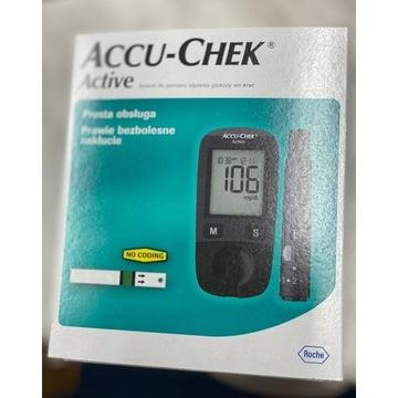 Glukometr Accu Active NOWY!!