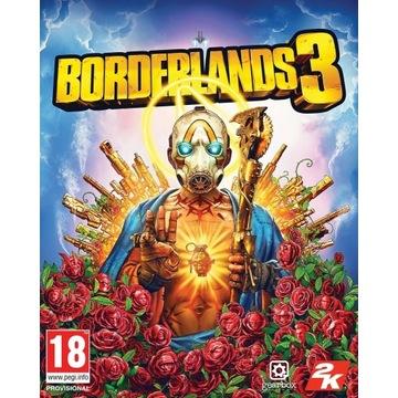 BORDERLANDS 3 na Twoje konto STEAM GLOBAL