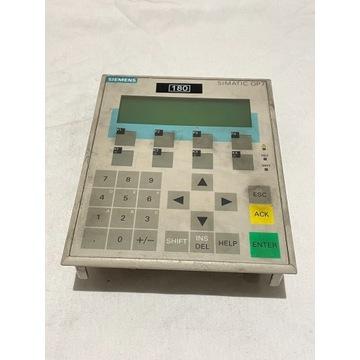 SIEMENS OP 7-DP 6AV3607-1JC20-0AX1 PANEL OPERATORS